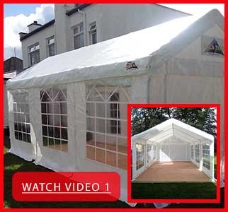 Watch Video of Our Party Marquees for hire in Carrick-on-Shannon, Leitrim, Longford and Roscommmon in Ireland! - Play Video Here!