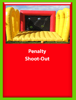 PENALTY SHOOT-OUT for Hire in Carrick-on-Shannon, Leitrim, Longford and Roscommmon in Ireland. Phone us on 0894258578 today to book this unit.