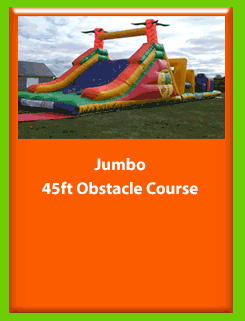 JUMBO 50 FOOT OBSTACLE COURSE for Hire in Carrick-on-Shannon, Leitrim, Longford and Roscommmon in Ireland. Phone us on 0894258578 today to book this unit.