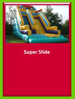 SUPER SLIDE for Hire in Carrick-on-Shannon, Leitrim, Longford and Roscommmon in Ireland. Phone us on 0894258578 today to book this unit.