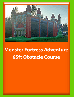 Image of Fortress Bouncy Castle for Hire in Carrick-on-Shannon, Leitrim, Longford and Roscommmon in Ireland. Phone us on 0894258578 today to book this unit.